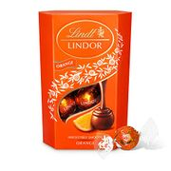 Pack of 2 Lindt Lindor Milk Orange Chocolate Truffles Box