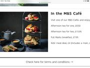 M&S Afternoon Tea for Two, £15.95