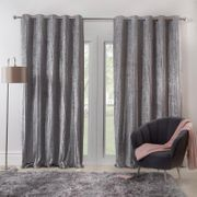 Crinkle Crushed Velvet Curtains Down From £19.5 to £14.99