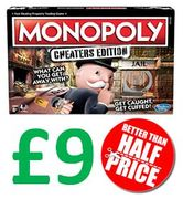BARGAIN! Monopoly Cheaters Edition