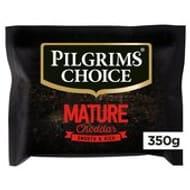 Pilgrims Choice Mature Cheddar 350g - Save £1!