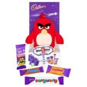 Cadbury's Angry Birds 2 Plush Toy & Chocolates 70g Only 99p at ClearanceXL