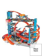 *SAVE £20* Hot Wheels City Ultimate Garage with Shark Attack Toy Cars