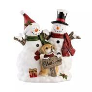 Aynsley China Welcome Snowmen Ornament - HALF PRICE