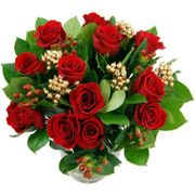 A Stunning Christmas Roses Bouquet, Now Available for Just £32.99