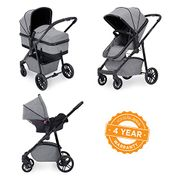 Ickle Bubba Moon Travel System - Space Grey, Silver Grey or Black