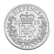 Free Christmas Coin With Purchase of Silver Sixpence