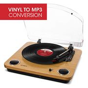*SAVE £29* ION Audio Max LP Vinyl Record Player / Turntable Built in Speakers