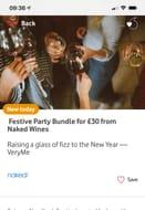 A Festive Party Bundle for £30.