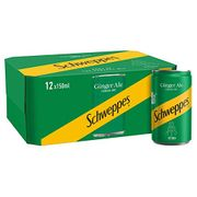 Best Ever Price! Schweppes Canada Dry Ginger Ale 12 X 150ml Cans