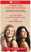 Enjoy 10% off Your First Order at Erborian Skincare