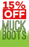 15% off Muck Boots