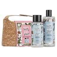 LoveBeautyPlanet Coconut& Mimosa Shampoo Shower Gel, Vegan Gift Set