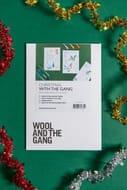 Wool and the Gang Christmas Embroidery Kit