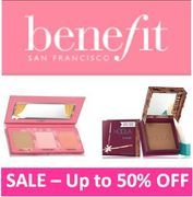 Benefit Cosmetics - JANUARY SALE - up to 50% Off - ON NOW