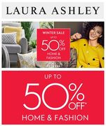 Cheap Laura Ashley January Sale -up to 50% off Home & Fashion