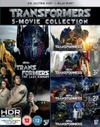 Transformers: 5-Movie Collection - 4K Ultra HD (Bonus Disc) Blu-Ray