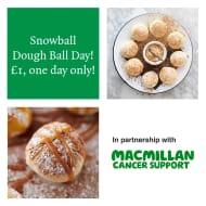 Snowball Dough Ball Day
