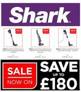 Save up to £180- SHARK Vacuum Cleaners - GOING CHEAP in the JANUARY SALE!