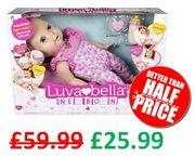 Luvabella Newborn - Interactive Baby Doll