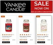 YANKEE CANDLE JANUARY SALE - LAST CHANCE - up to 50% Discount!