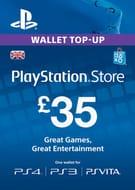Best Price! PS Vita / PS3 / PS4 Playstation Network Card £35 £29.99 at CDKeys