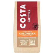 Costa Roast & Ground Coffee Colombian 200G for £1.50 with Code
