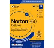 NORTON 360 Deluxe Computer Protection Software (Plus 50GB Storage)