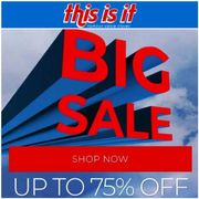 This is It Famous Value Stores SALE.