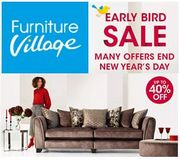 Best Price! Everything's Reduced at FURNITURE VILLAGE - Sofas, Dining and Beds.