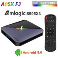 A95X F3 AIR Smart TV Box Android 9.0 8K 75fps S905X3 4+64GB Media Player A0Q6