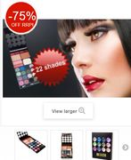 Cheap 22 Piece Complete Make-up Kit *WOW! All This Only £4.99!