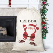 Personalised Embroidered Santa Sack on Sale From £14.99 to £4.99