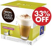 Cheap 3 PACK - DOLCE GUSTO Skinny Cappuccino Coffee Pods Only £9!