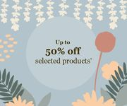 Save up to 50% off Selected Items in Our Year End Sale