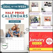 Cheap Create Your Own Personalised Calendar Today with 50% Discount!