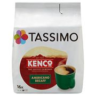Tassimo Kenco Decaffeinated Coffee Pods 16x6.5g 104g (Amazon Pantry)