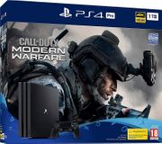 PS4 Pro Console with Call of Duty Modern Warfare