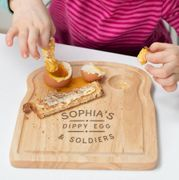 Cheap Personalised Egg And Toast Board For Children with 50% Discount!