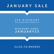 15% off in Our January Sale at Carpet Runners