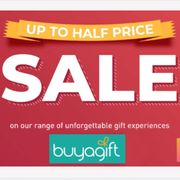 SAVE up to HALF PRICE at Buy a Gift!