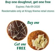 Special Offer Buy One Doughnut, Get One Free on Krispy Kreme App