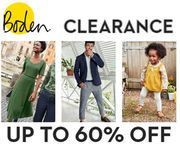 BODEN CLEARANCE - up to 60% OFF