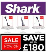 SHARK Vacuum Cleaners - GOING CHEAP in the JANUARY SALE! Save up to £180-