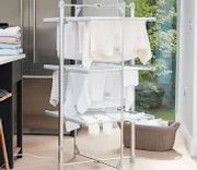 3-Tier Heated Clothes Airer