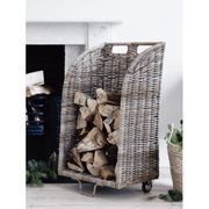 Rattan Log Trolley