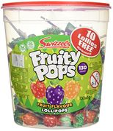 Swizzels Matlow Fruity Pops Lollies Original (130x8g) - 30% Off!