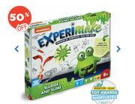 Nickelodeon Experimake Sludge and Slime