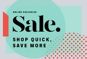 Quick! Extra 10% off SALE Ends Midnight