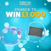 Stay Bubbly and Win £1000